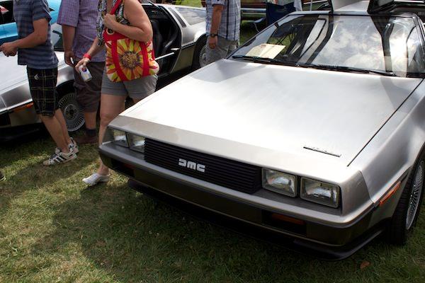 Festival auto Granby DeLorean