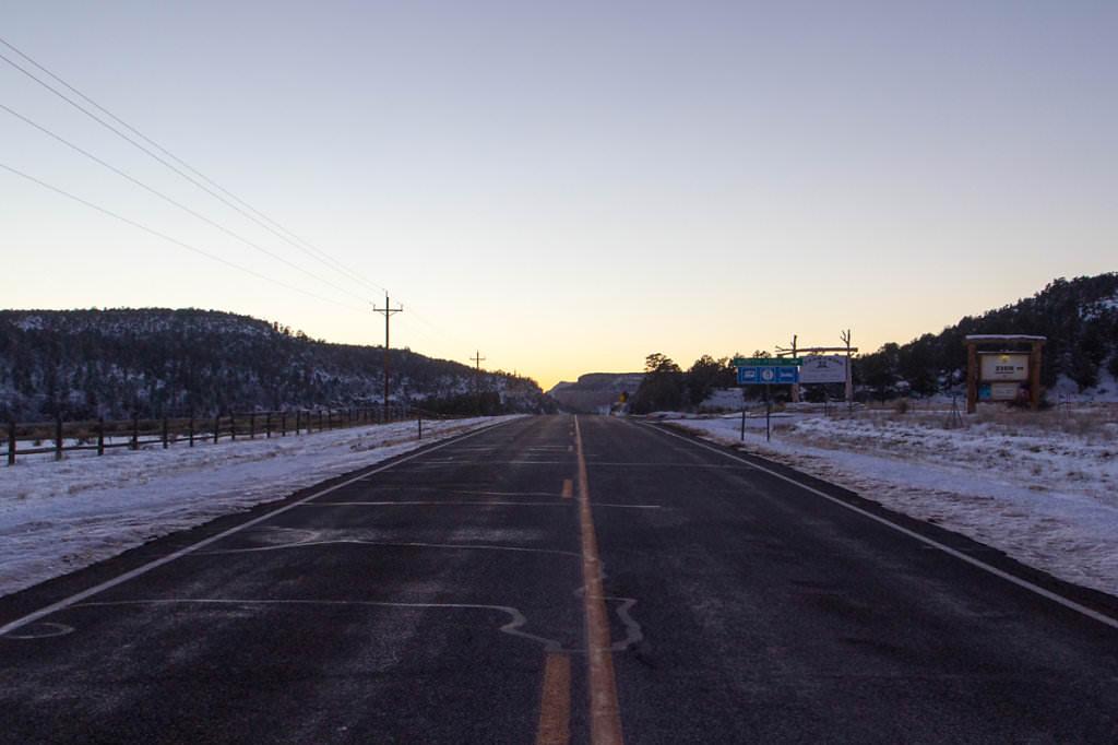 Utah-Zion-National-Park-road
