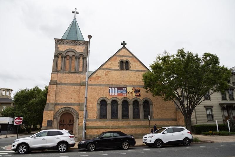 Eglise arméniene Saint Vartanantz à Providence RI