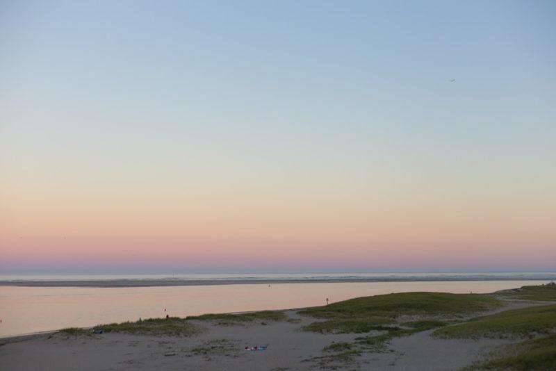 Chatam sunset beach cape cod