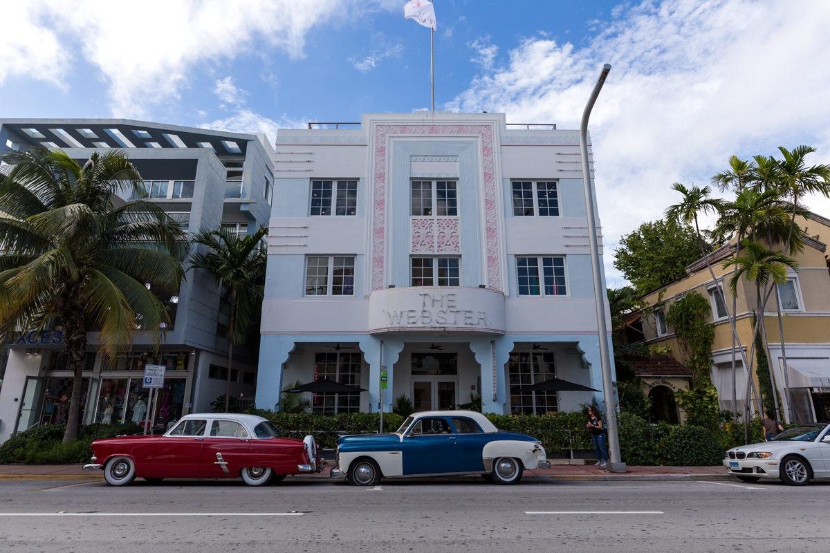Ocean Drive Miami (Floride)