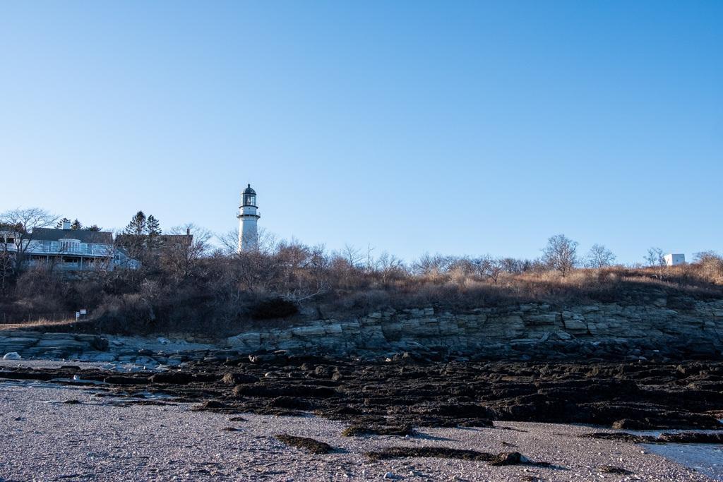Cape elizabeth lighthouse (phare) Maine